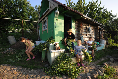 Dachas are a Russian way of life. Source: Itar-Tass
