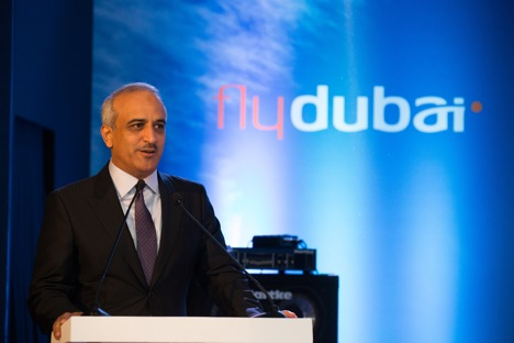"Ghaith Al Ghaith: ""In establishing network of routes between Russia and India, flydubai will significantly increase both tourism and trade links between the two countries."" Source: Alessandro Belli"