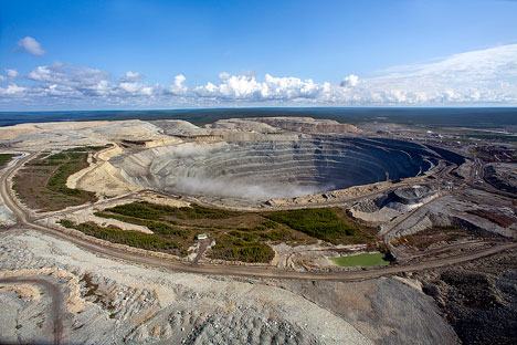 The Udachny quarry. Source: Press Photo