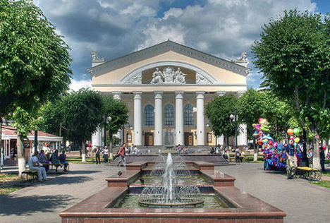 Historical center of the city. Source: visitkaluga.ru