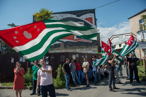 Whoever replaces Alexander Ankvab will not change pro-Russian Abkhazia.Source: Mikhail Mokrushin / RIA Novosti