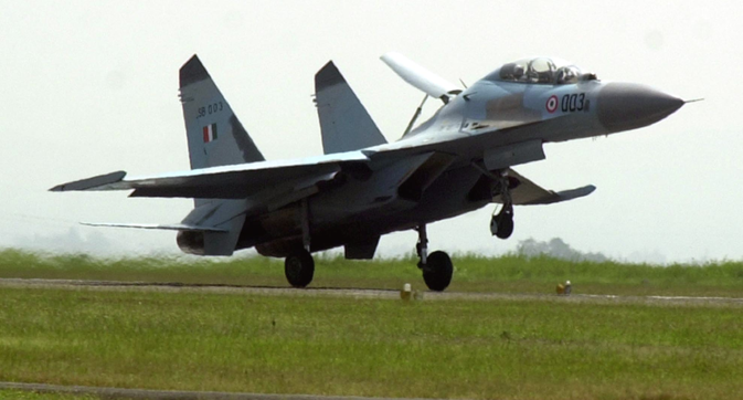 India's Sukhoi-30 MKI fleet is currently pegged at 272 (including aircraft under order) but the number will clearly increase as HAL cranks up production. Source: APSource: AP