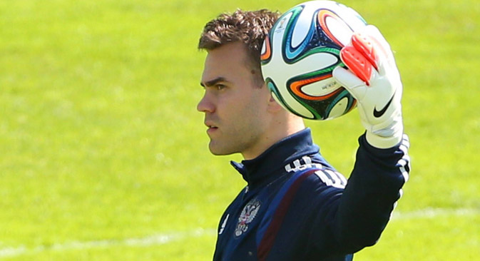 Igor Akinfeev. Source: Imago / Legion Media