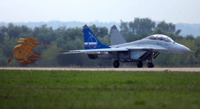 MiG is waiting for a Russian Defence Ministry contract for the supply of MiG-35s. Source: Ilya Pitalev / RIA Novosti