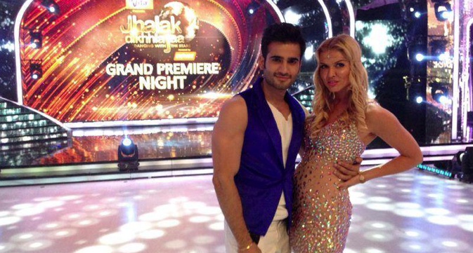 Elena Samodanova and Karan Tacker. Source: Personal archive