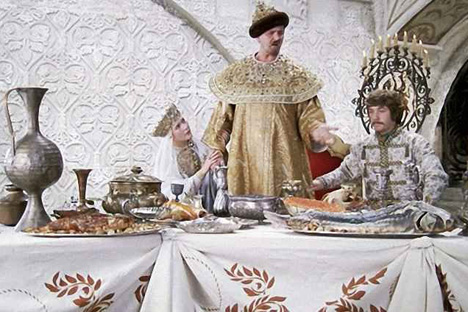Ivan the Terrible was radical in his cuisine. Source: Kinopoisk.ru