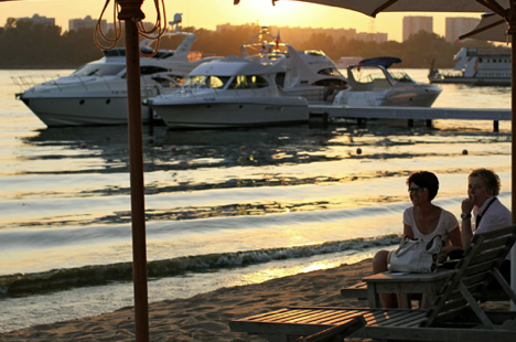City beach. Source: RIA Novosti