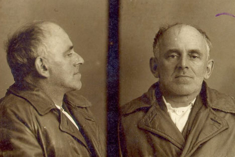 The last picture of Osip Mandelstam... Taken by NKVD. Source: Archive photo