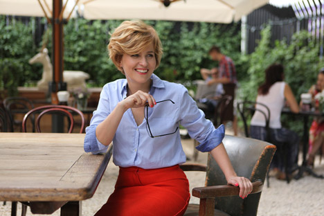 "Olga Zakharova: ""It is really difficult to break the stereotypes of Muscovites, because everyone here already knows everything"". Source: Gorky park"