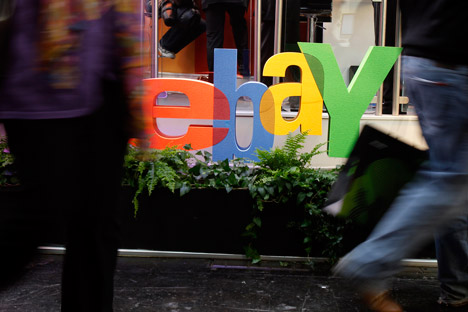 Russian post and eBay are teaming up to improve delivery times and service. Source: Reuters