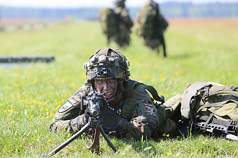 NATO's continuing expansion policy, which ignores equal and indivisible security, will inevitably lead to the emergence of new divisional lines in Europe. Source: AP
