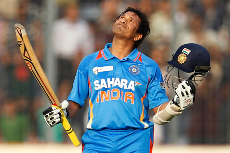 We need to accept that Sachin Tendulkar is not that famous in non-cricket playing nations. Source: AP