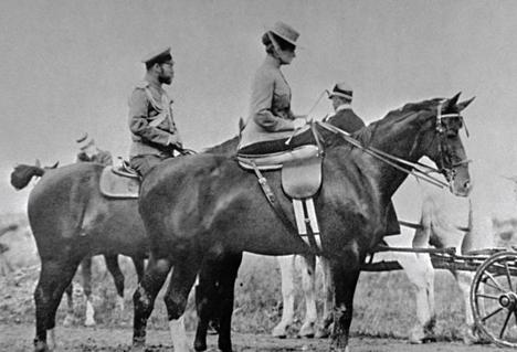 Tsar Nicholas II with his family. Source: RIA Novosti