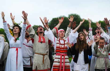 Traditional Ivan Kupala festivities. Source: RIA Novosti
