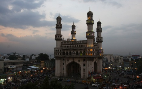 Hyderabad could be one of the main gateways for Russian businesses in India. Source: AP