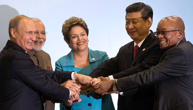 The launch of the developmental bank is being seen as a major step in bringing forth closer economic cooperation between the members of BRICS. Source: AP