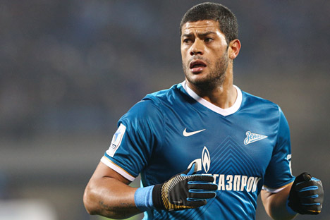 Hulk is sticking around for a third season at Zenit. Source: Anatoly Medved / RIA Novosti