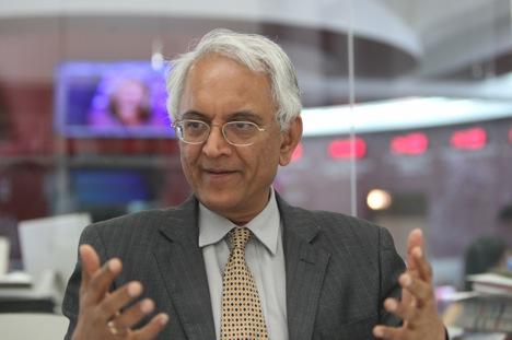 India's ambassador to Russia P.S. Raghavan Source: Sergey Kuksin / RG
