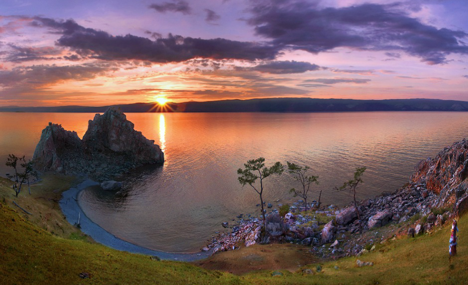 August is a great month to visit Lake Baikal. Source: Itar-Tass