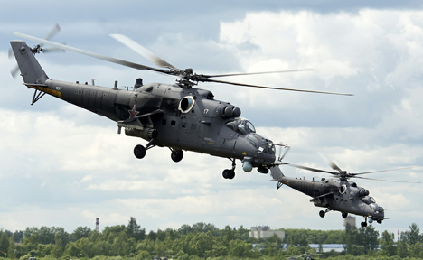 South Africa is interested in Russian helicopters. Source: mil.ru