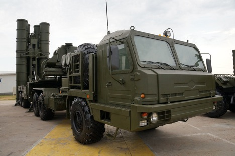 S-400 Triumf surface to air missile.
