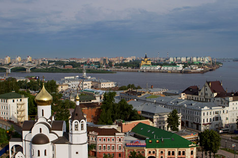 The Nizhny Novgorod region is located at the intersection of two international transport corridors and has excellent road, rail and river transport. Source: Oleg Zoloto / RIA Novosti