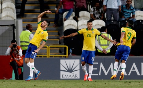 The Brazilian under-17 team would be the favoured to win the tournament. Source: AP