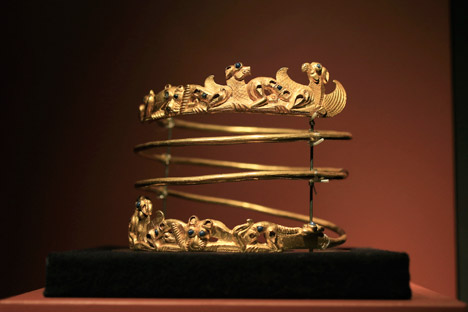 Russia has criticized the Dutch stance on the Scythian gold and insists that it should be returned to Crimea. Source: AP