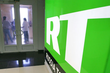 Hindi programmes on RT would help show an alternate perspective to more Indians. Source: Photoshot / Vostock Photo