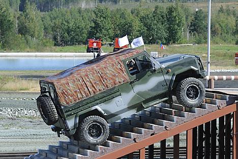 The Skorpion-LTA armoured vehicle. Source: Itar-Tass