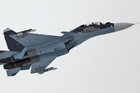 Su-30SM aircrafts will be used during drills. Source: Irkut Corporation