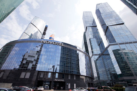 In the Moscow City office complex, every fifth office is empty, market analysts say. Source: ITAR-TASS