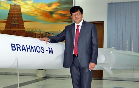 Sudhir Kumar Mishra, new BrahMos chief. Source:BrahMos