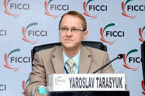 Yaroslav Tarasyuk. Source: Courtesy Trade Mission of Russian Federation in India