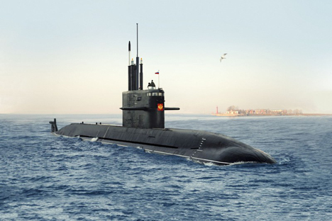 India has approached Russia regarding the sale of two of Russia's newest Amur class submarines (photo). Source: Press Photo