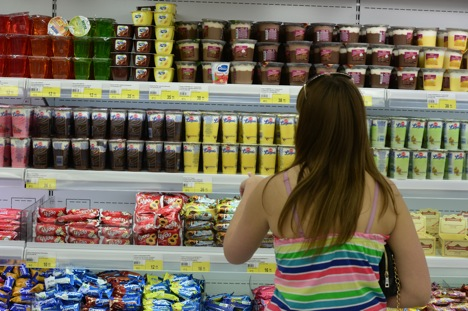 Indian products could fill shelves in Russian shops. Source:  Alexandr Kryazhev / RIA Novosti