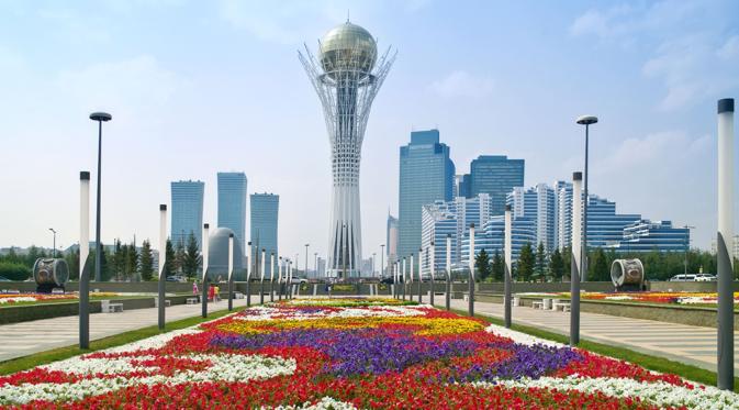 City centre of Astana. Source: Alamy / Legion Media