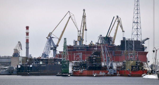 Zvezdochaka shipyard has strong connections with India. Source: Mikhail Mordasov / RIA Novosti