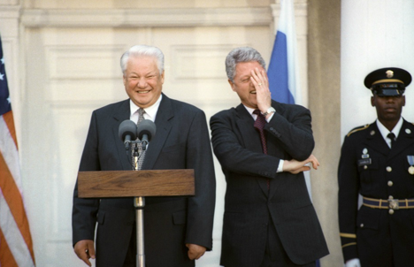 Many of Boris Yeltsin's policies were dictated by the U.S. Source: Itar-Tass