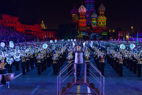 The festival culminated in a joint performance by all its participants. Source: Sergei Mikheev / RG