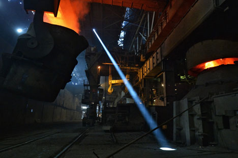 Flourishing industrial sector could excel 1.7 percent forecast for 2014. Source: RIA Novosti / Vladimir Pesnya