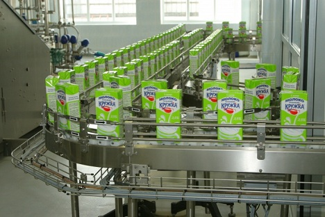 Galactica Group, which has about 3 percent share in the Russian dairy market and ranks among five largest dairy manufacturers in the country, is a part of FoodLine Holding, one of Russia's largest distributors of milk products and components. Source: Galactica Group