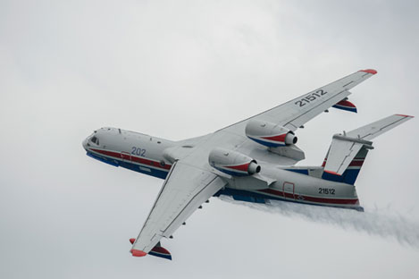 Be-200. Source: RIA Novosti / Mikhail Mokrushin