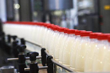 Indian production facilities are ready to supply meat and dairy products, including milk, butter and cheese, to Russia. Source: Alexei Danichev / RIA Novosti