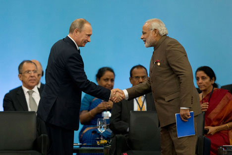 India and Russia can evolve as a balancer in the Asia-Pacific. Source: AP