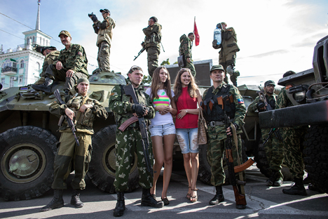 Are there any prospects for peace in the Donbass? Source: Reuters