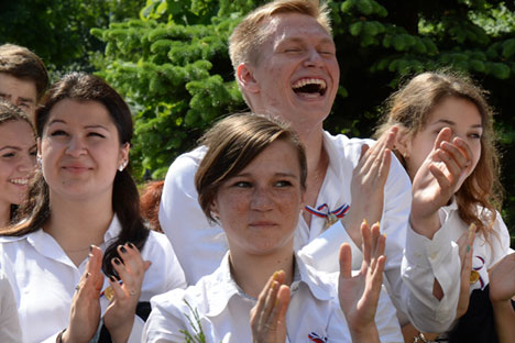 University students in smaller Russian towns are generally curious and welcoming. Source: Sergey Kuznecov / RIA Novosti