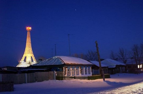 The village of Paris in Chelyabinsk region, Southern Urals / ITAR-TASS
