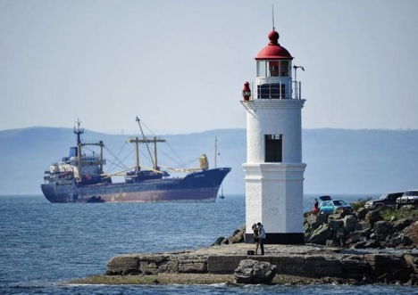 A view of the Tokarevsky lighthouse. Source: ITAR-TASS / Yury Smityuk