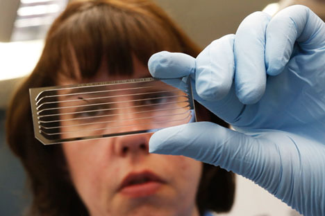 New DNA testing project by Atlas Biomed Group is launched in September. Source: Reuters